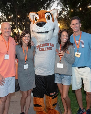 Oxy alumni at reunion