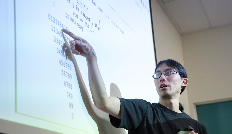 Oxy Computer Science Professor Justin Li