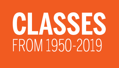Classes from 1950-2019