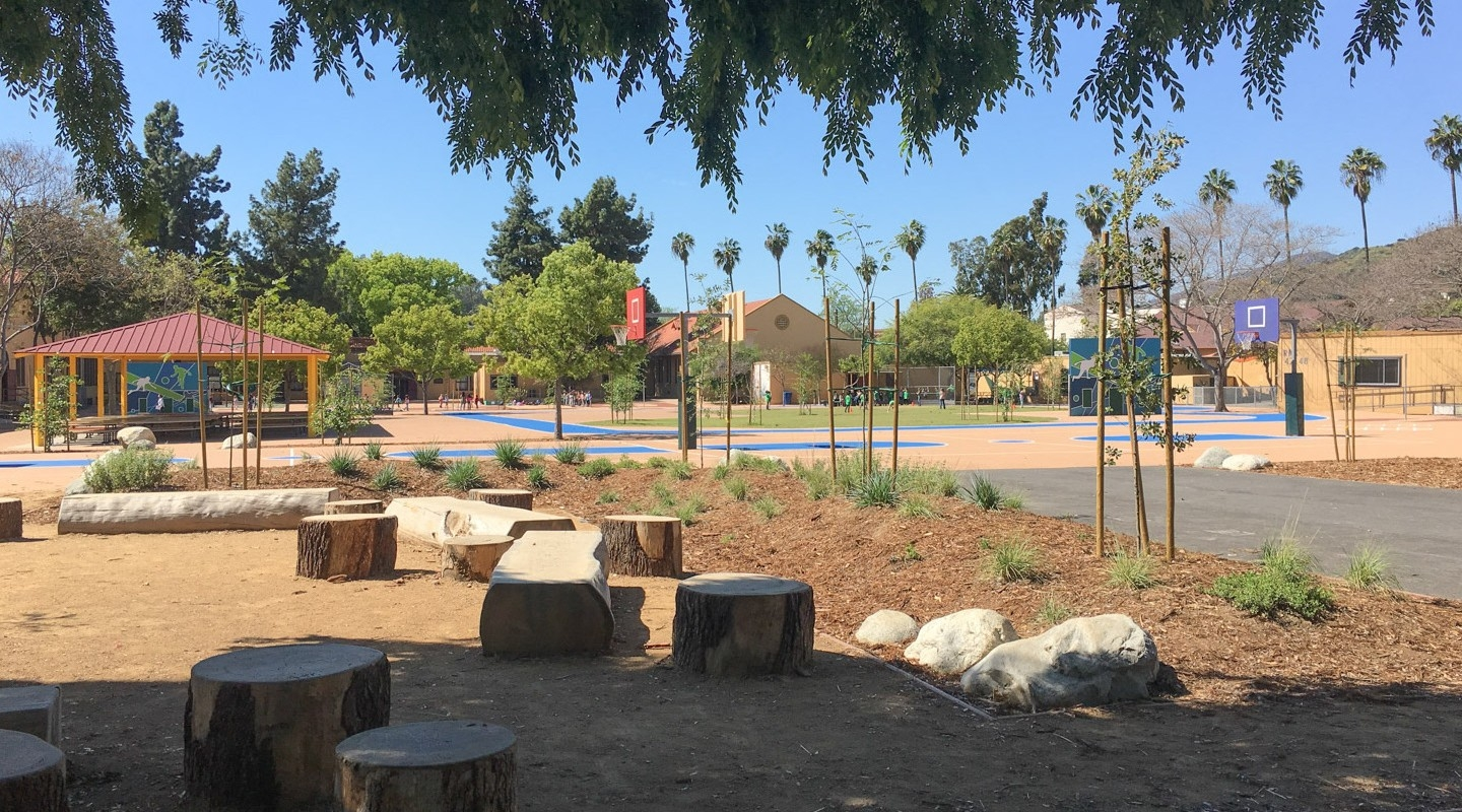 A Southern California campus