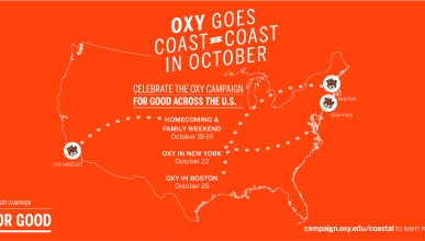 Oxy Goes Coast to Coast in October