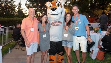 Alumni at Homecoming at Oxy