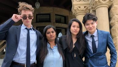 Blythe Fund students