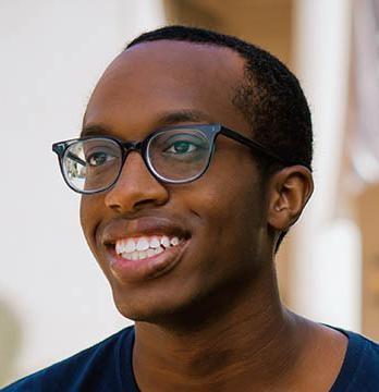 Oxy student Jordan Walker